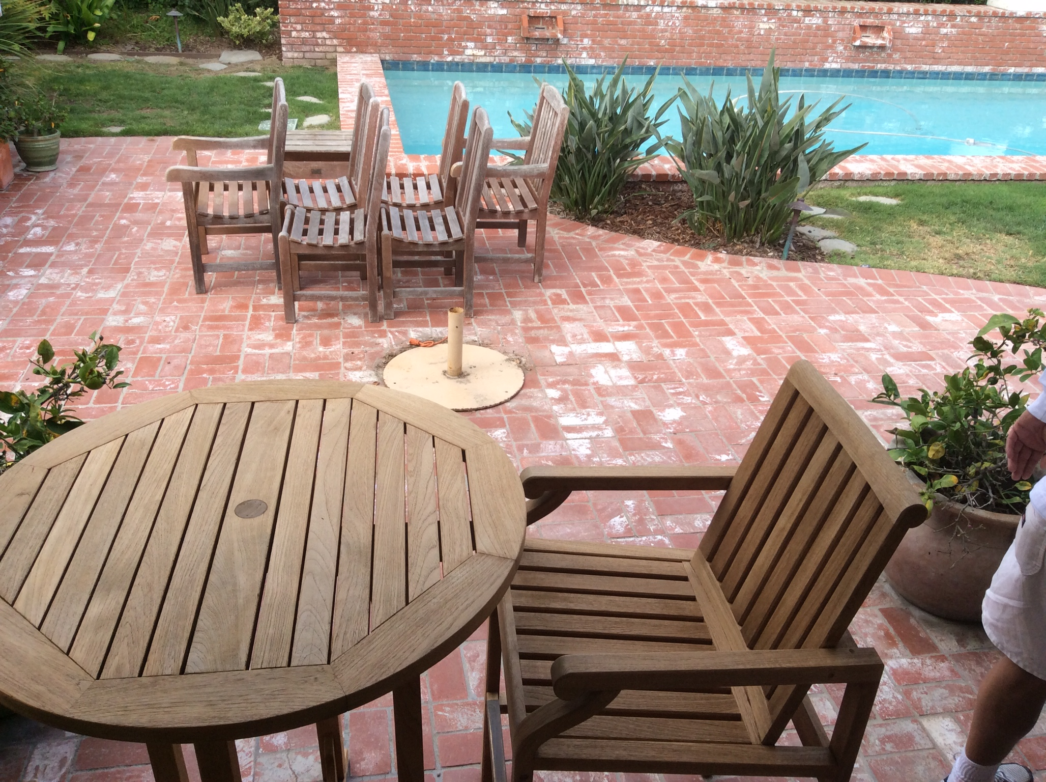 Refinishing Teak Outdoor Furniture Wilson Painting