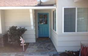 Painting an Accent Door - Adding a Splash of Exterior Color in Newport Beach